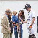 Prince William Windsor & Catherine Duchess of Cambridge: : Gigaset Charity Polo Match (June 14, 2015)
