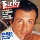 Sylvester Stallone - Tele K7 Magazine Cover [France] (17 December 1990)