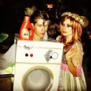 Alex Turner and Arielle Vandenberg as Florence+The Machine (Halloween 2012)