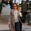 Russian-American actress Margarita Levieva is spotted walking her dog in New York City, New York on November 10, 2016 - 401 x 600