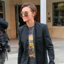 Ms. Ruby Rose Spotted Leaving Steven & CO. Jeweler store out in Beverly Hills CA January 11,2016 - 454 x 582