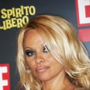 """Pamela Anderson - Photocall To Promote """"Pam: A Girl On The Loose"""" In Rome, Italy, September 15 2008"""