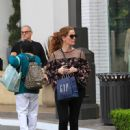 Rebecca Mader was seen at The Grove In Los Angeles Ca April 6, 2017