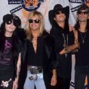 Motley Crue at the 1990 MTV Awards - 454 x 311
