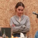 Emilia Clarke – On stage of her new West End theatre play 'The Seagull' in London