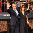 Rowan Atkinson and Sunetra Sastry - 395 x 594