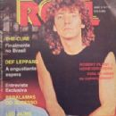 Robert Plant - Roll Magazine Cover [Brazil] (May 1985)