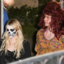 Emma Roberts and Evan Peters – Kate Hudson's Annual Halloween Bash in Pacific Palisades 10/28/ 2016 - 454 x 302