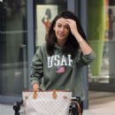 Michelle Keegan – Arriving at Heathrow Airport in London - 454 x 612