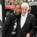 Tommy Davidson and Dick Van Dyke at film premiere