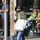 Shannen Doherty in Green Jacket – Shopping in Malibu - 454 x 664