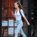Charlotte Le Bon out and about in the East Village in New York City, New York on August 5, 2016 - 454 x 597
