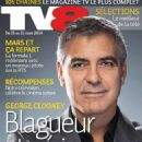 George Clooney - TV 8 Magazine Cover [Switzerland] (15 March 2014)