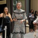 Maggie Gyllenhaal – Valentino Resort 2018 Show in New York - 454 x 681