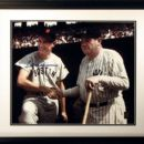 Ted with Babe Ruth