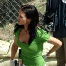 Tia Texada On The Set Of Criminal Minds 2008-03-31
