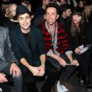 Douglas Booth attends the opening event at the London Collections: Men AW15 at The Hospital Club on January 9, 2015 in London, England