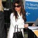Paula Abdul arriving on a flight at LAX airport in Los Angeles, California on January 12, 2015 - 449 x 594