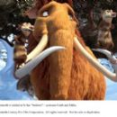 """The pregnant Ellie (voice by Queen Latifah) the mammoth is tended to by her """"brothers"""" – possums Crash (voice by Seann William Scott) and Eddie (voice by Josh Peck). Photo credit: Blue Sky Studios. ©2009 Twentieth Century Fox Film Corpor"""