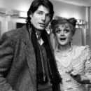 Sweeney Todd: The Demon Barber of Fleet Street Back Stage With Christopher Reeve and Angela Lansbury - 454 x 556