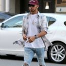 Sushi date! Sofia Richie, 18, meets up with Lewis Hamilton, 32, for dinner at Japanese restaurant in Beverly Hills - 454 x 608