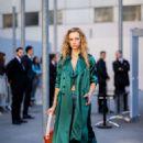 Hannah Ferguson – Leaving Chloe Fashion Show in Paris - 454 x 639
