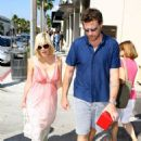 Tori Spelling With Dean McDermott Shopping In Beverly Hills, 2008-06-28