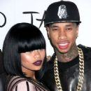Tyga and Blac Chyna At Kim Kardashian's 33rd Birthday Party At Tao in Vegas- 10/26/2013