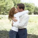 Rene Russo as Helen and Dennis Quaid as Frank Beardsley in Paramount Pictures' comedy Yours, Mine and Ours - 2005