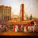 Marie Antoinette's execution on 16 October 1793