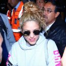 Shakira at Mexico City International Airport, October 2018