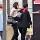Angelina Jolie and Brad Pitt seen at Teterboro Airport (November 5, 2015)