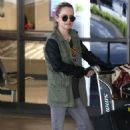 Taryn Manning at LAX Airport in Los Angeles - 454 x 681