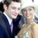 Paris Hilton and Rob Mills