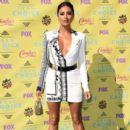 Actress Shay Mitchell attends the Teen Choice Awards 2015 at the USC Galen Center on August 16, 2015 in Los Angeles, California