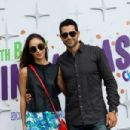 Actors Cara Santana and Jesse Metcalfe celebrate the 30th anniversary of Cinnamon Toast Crunch at Austin City Limits on October 5, 2014 in Austin, Texas