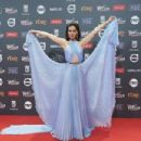 Natalia Oreiro- Platino Awards 2017- Red Carpet - 454 x 302