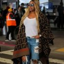 NeNe Leakes – Seen at LAX airport in Los Angeles