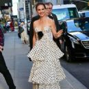 Natalie Portman – Seen while arriving to the Stephen Colbert Show in New York - 454 x 568