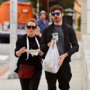 Hilary Duff with Matthew Koma out in Los Angeles