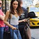 Maggie Q – Leaving Her Hotel in New York - 454 x 888