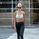 Daphne Groeneveld – Leaves the gym in New York - 454 x 681