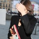 Kaia Gerber – Arriving at Valentino Fitting During Haute Couture Show in Paris