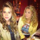 Lua Blanco and Sophia Abrahao