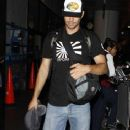 Paul Walker Arriving At The Los Angeles International Airport