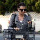 Lea Michele: at Bristol Farms