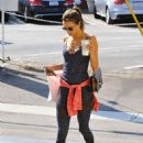 Alessandra Ambrosio at Brentwood Country Mart 08/23/2016