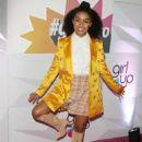 Yara Shahidi – Girl Up's Inaugural #GirlHero Awards Luncheon in Beverly Hills - 454 x 633