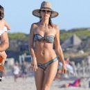 Alessandra Ambrosio– Beach in Ibiza 7/1/2016 - 454 x 659