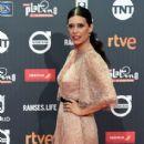 Angie Cepeda- Platino Awards 2017- Red Carpet - 413 x 600